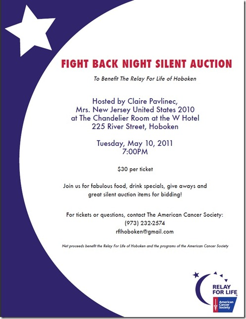 Silent Auction Flyer Template Free