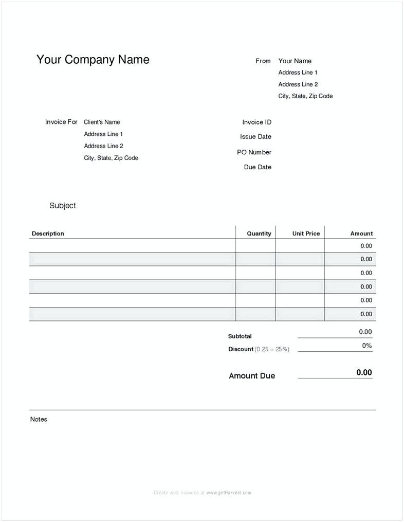 Simple Pay Stub Template Free