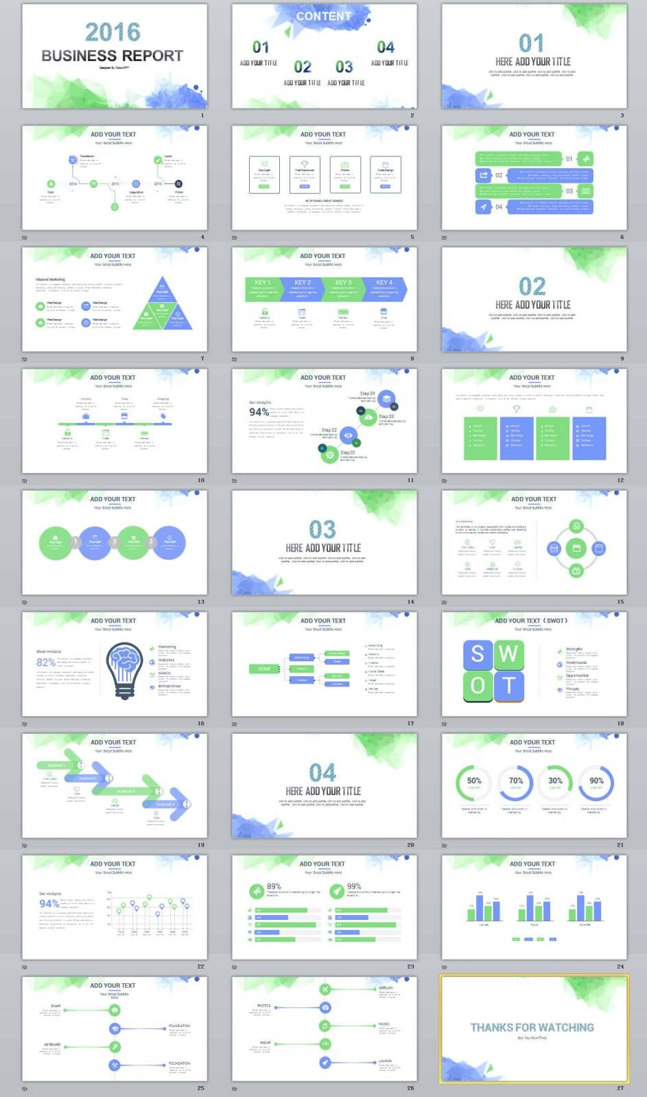 Simple Professional Powerpoint Presentation Templates