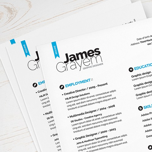 Simple Resume Template Singapore