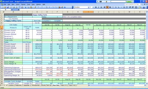 Small Business Accounting Templates Free