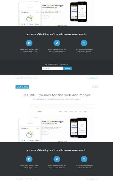Splash Page Design Templates