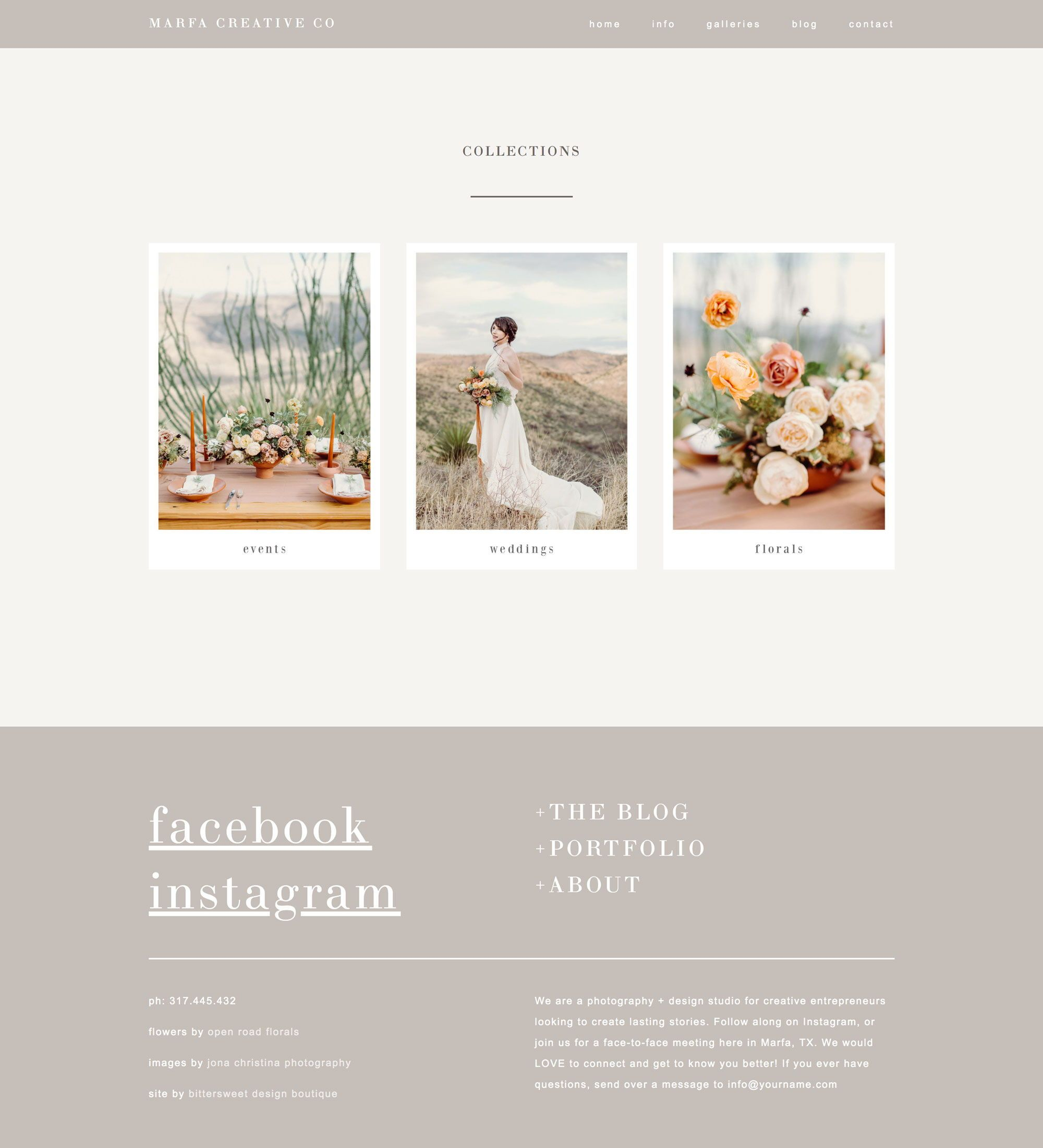 Squarespace Website Templates For Photographers