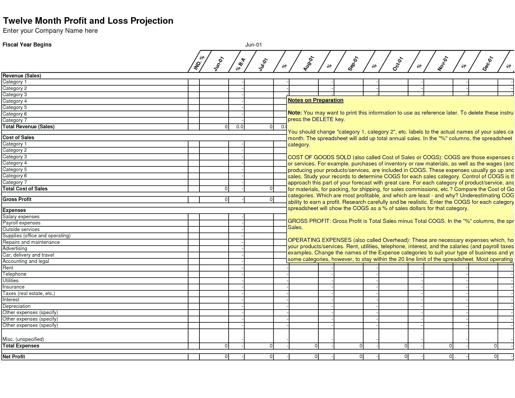 Tax Deduction Spreadsheet Template Excel