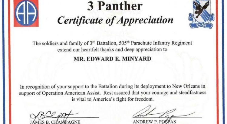 Template Certificate Of Appreciation For Teachers