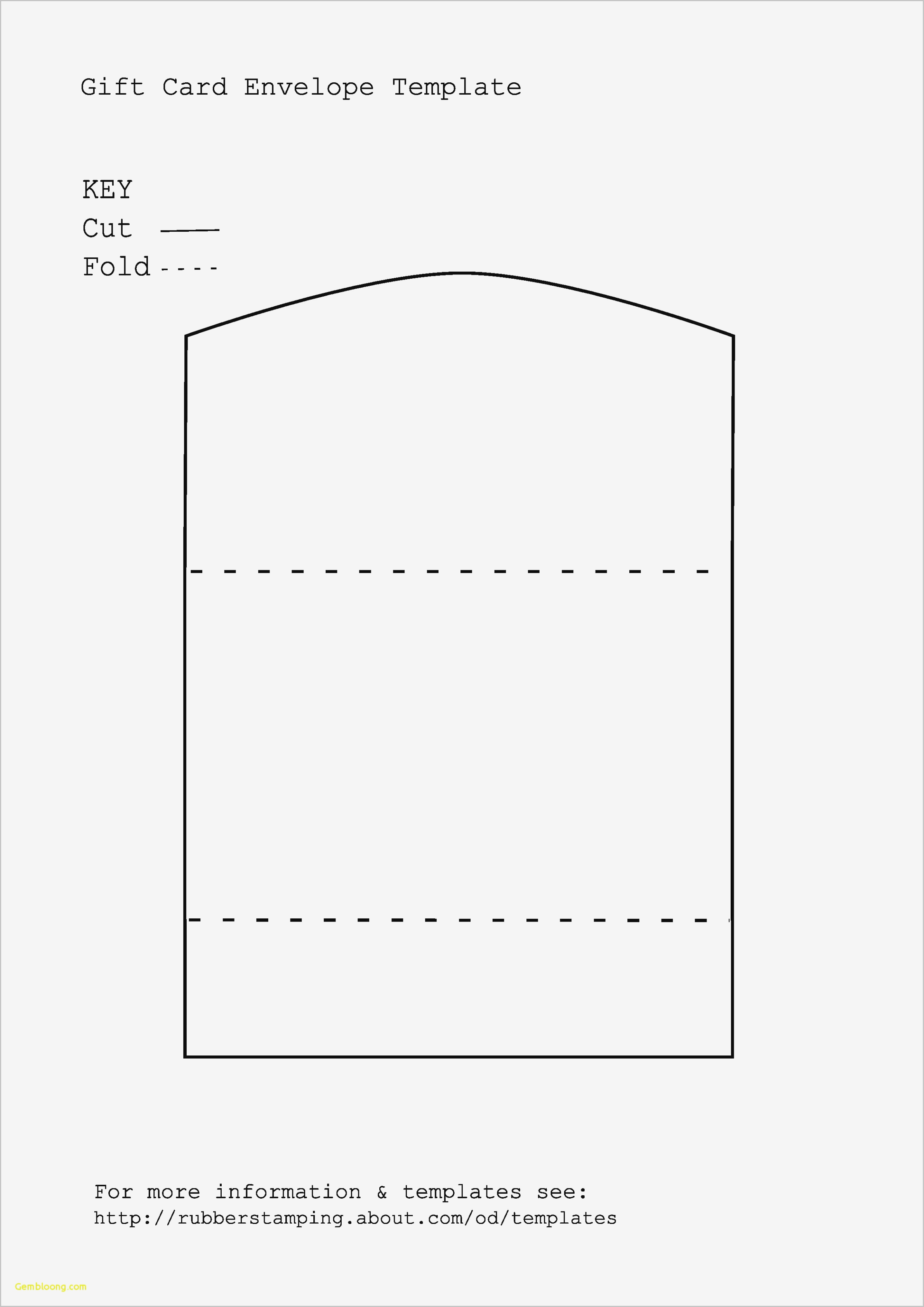 Template To Print Envelopes