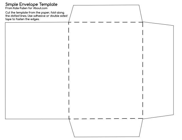 Templates For Envelopes Printable