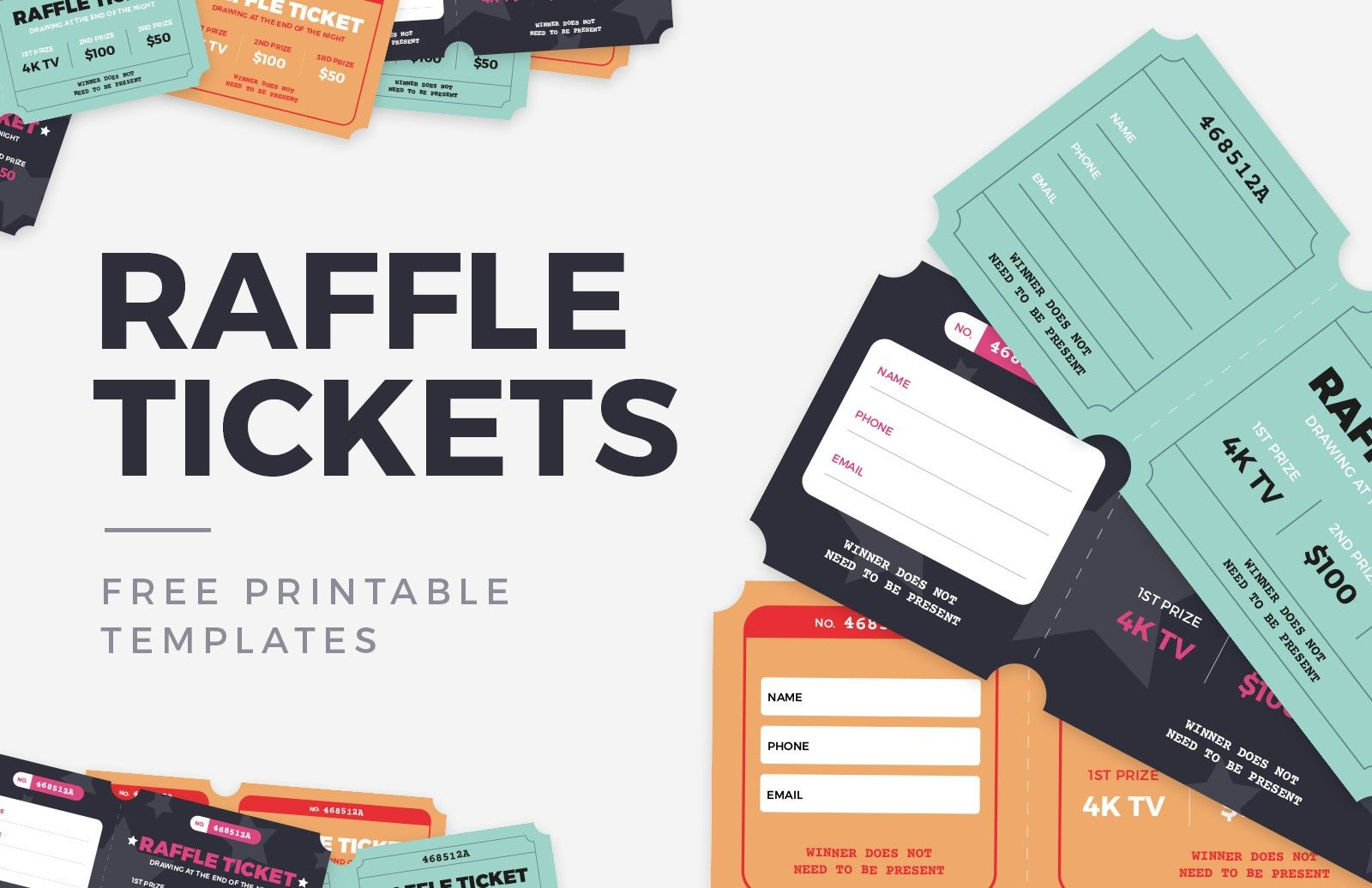 Ticket Printing Templates Free