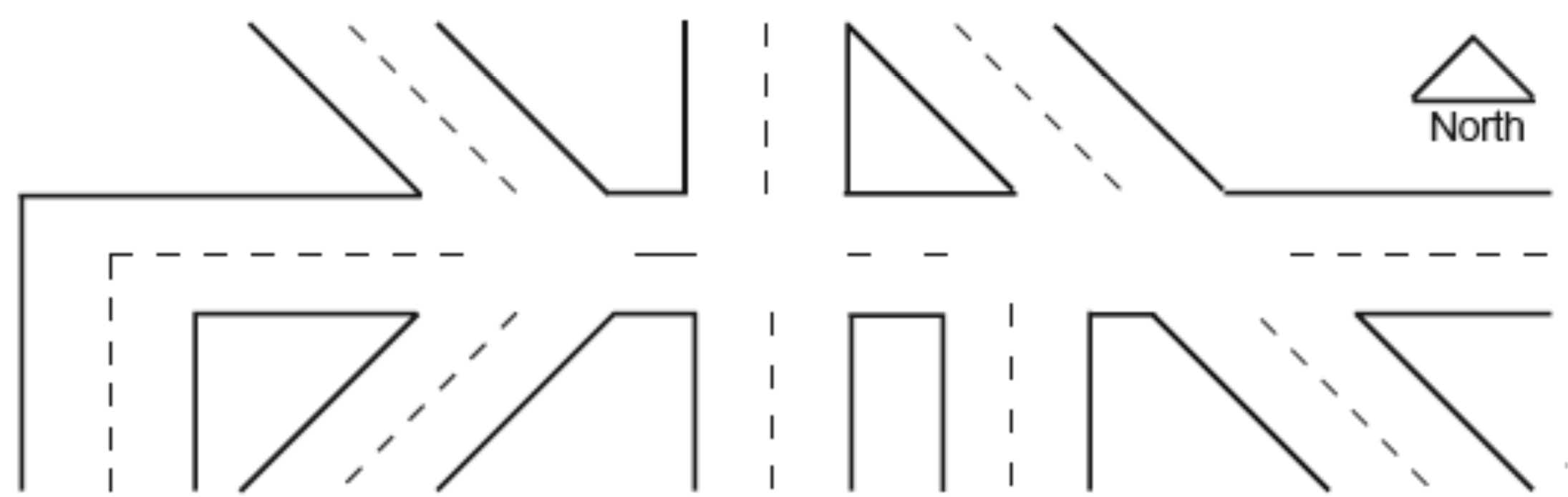 Traffic Accident Diagram Template