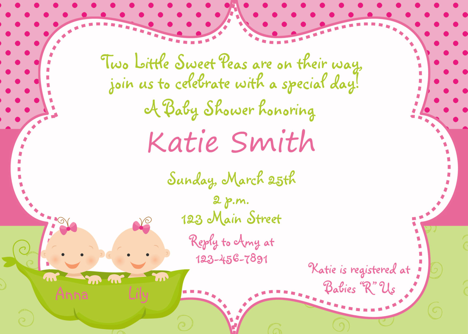 Tips Twins Baby Shower Invitations With Prepossessing Layout The Theme Twin Ba Shower Invitations Free Printables Twins Ba | Silverlininginvitations
