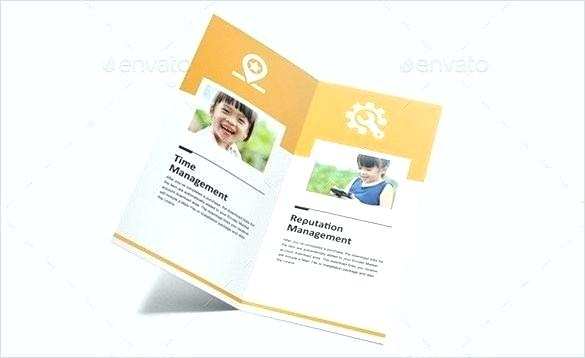 Two Fold Brochure Template Publisher
