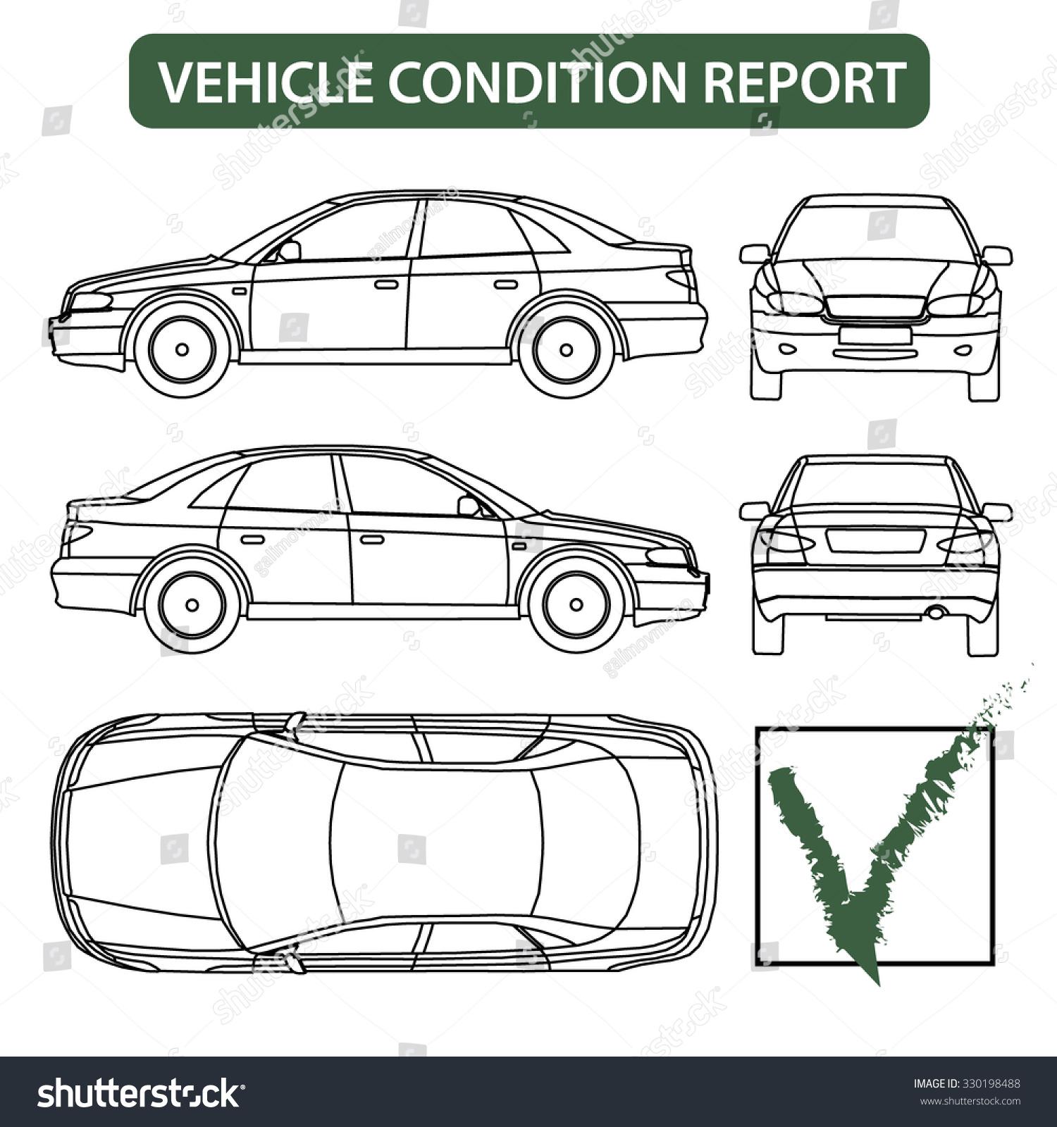 Van Inspection Sheet Template