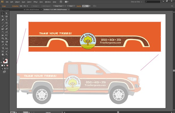 Vector Vehicle Wrap Templates