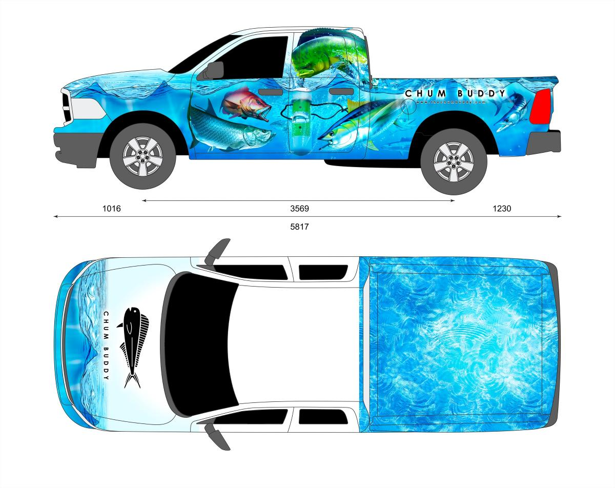 Vehicle Wrap Templates Illustrator