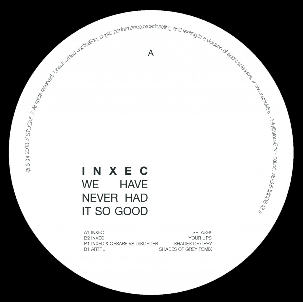 Vinyl Label Template
