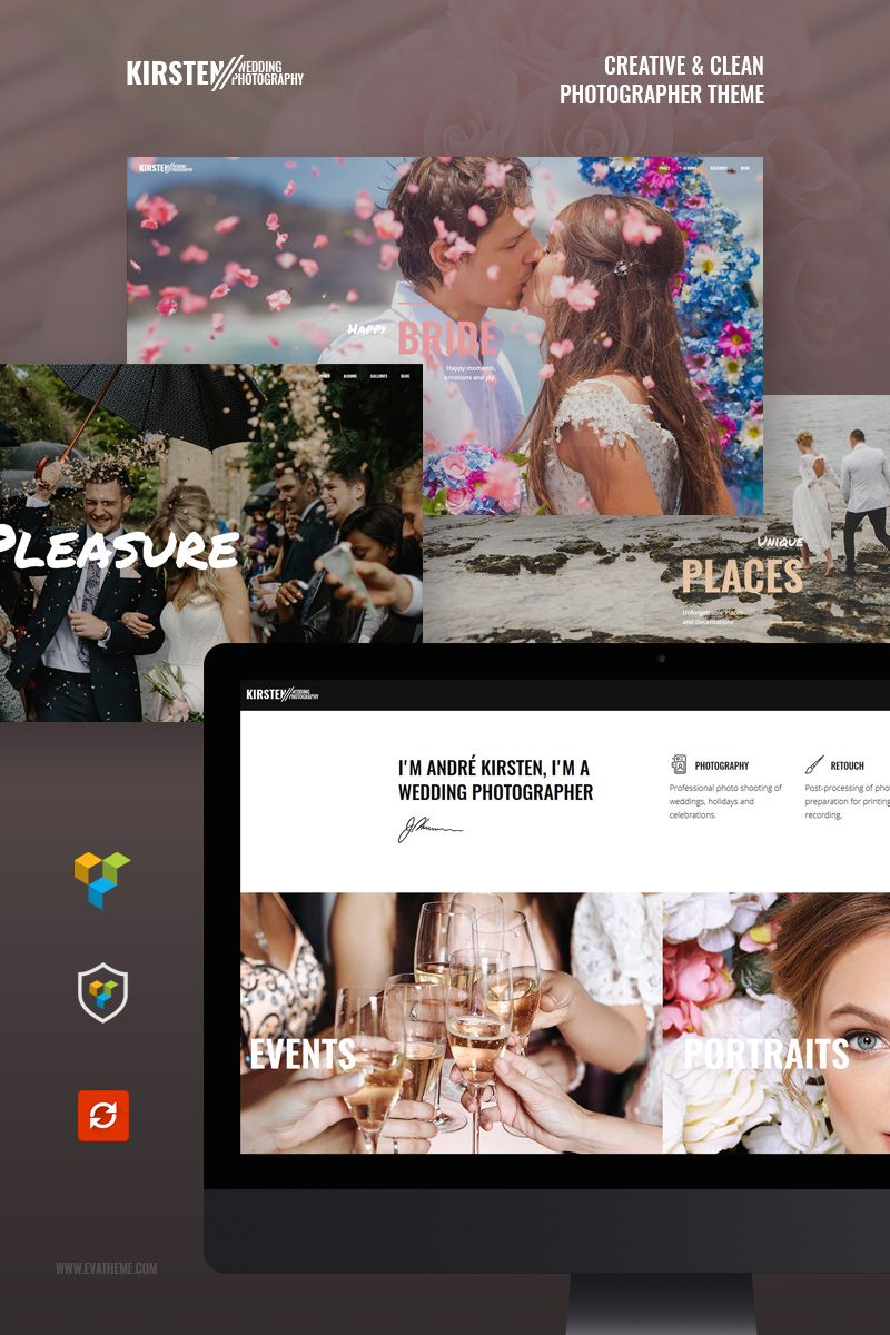 Wedding Portfolio Template