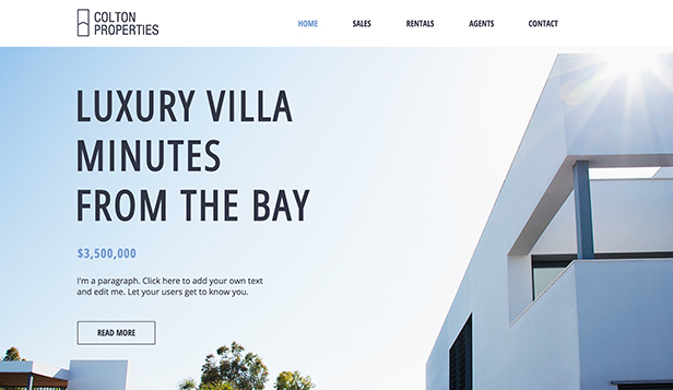 Wix Real Estate Templates
