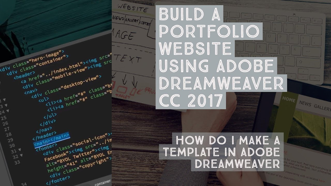 Adobe Dreamweaver Templates