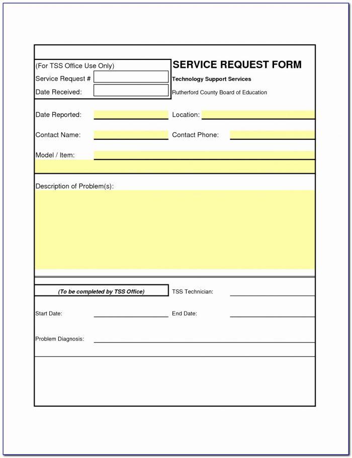 Advertising Order Form Insertion Order Template