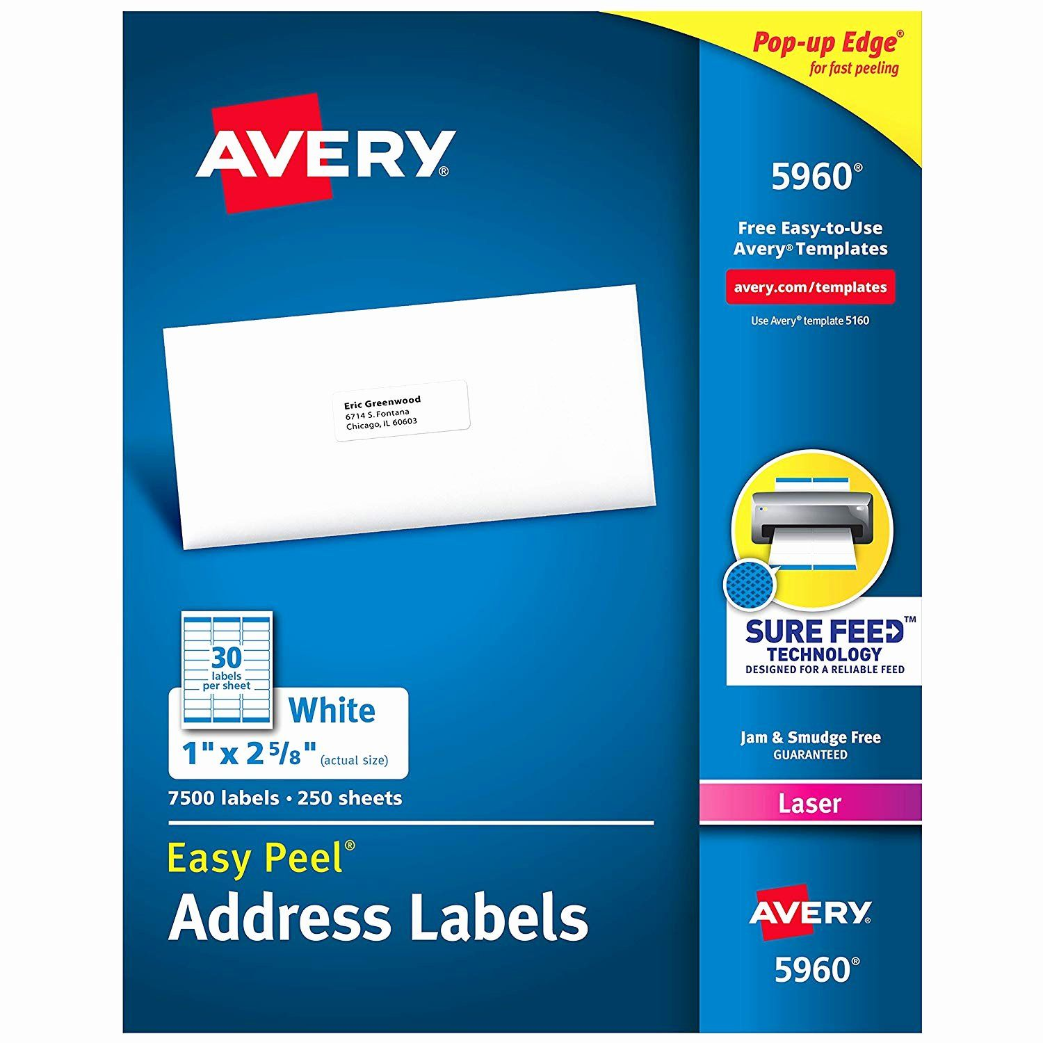 Avery Return Label Template