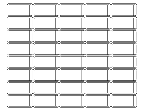 Blank Printable Ticket Templates