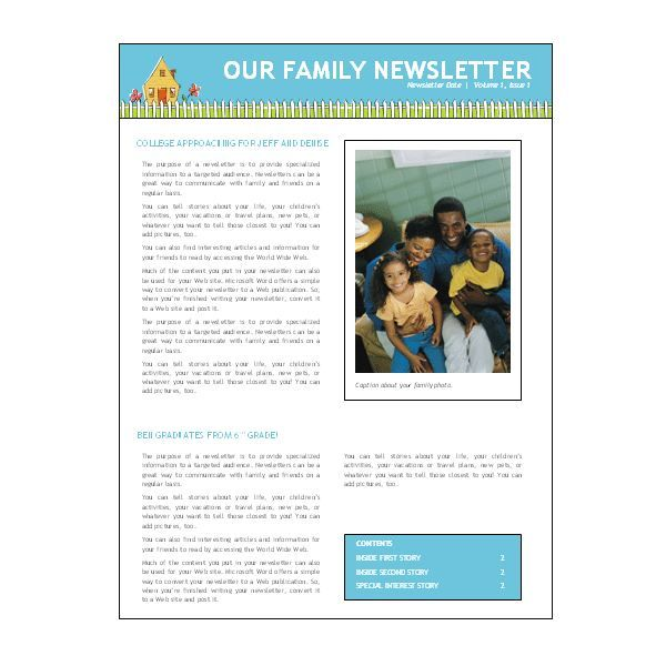 Church Newsletters Templates