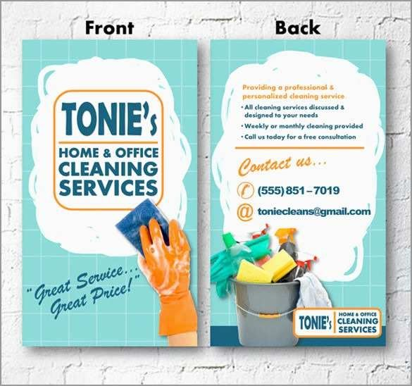 Cleaning Flyers Templates