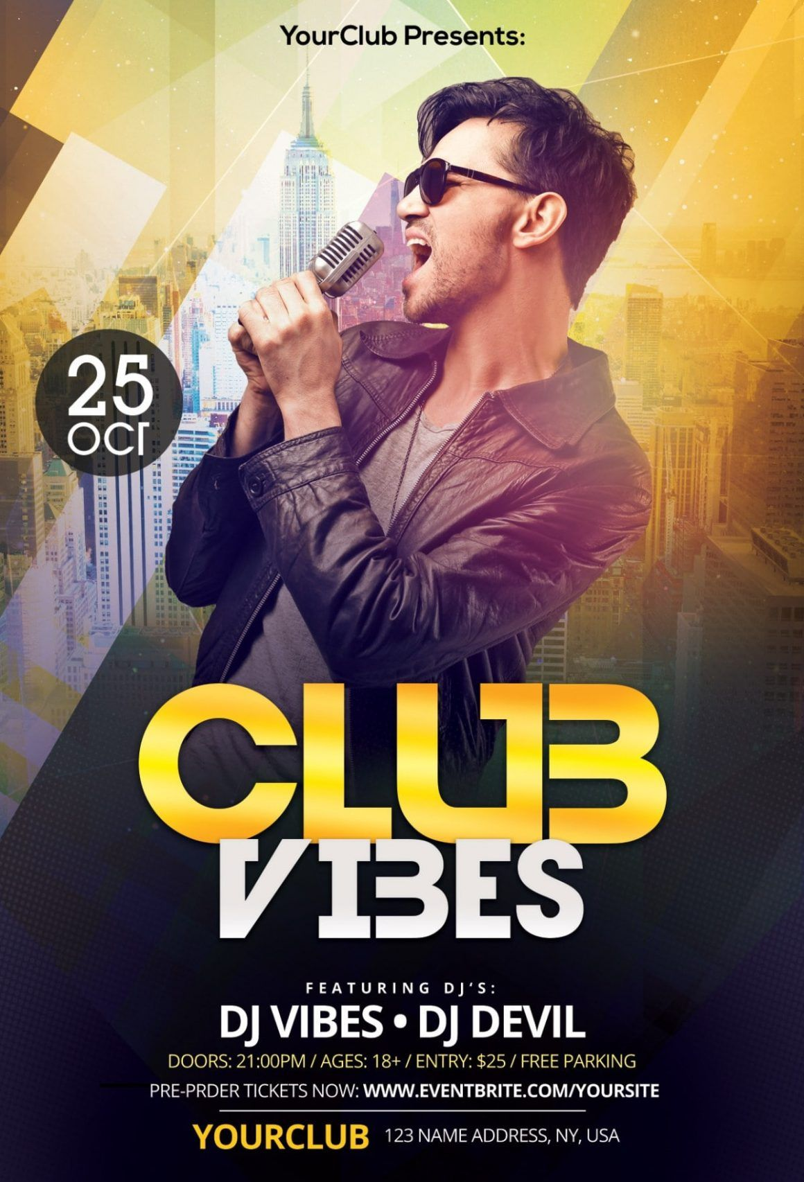 Club Flyer Templates Photoshop Free