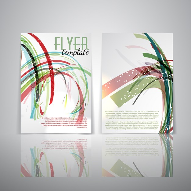 Double Sided Flyer Template Free