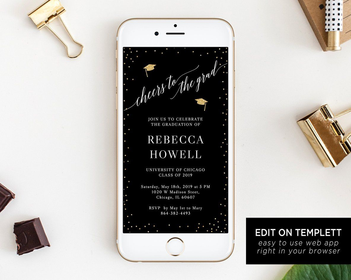Electronic Invitation Template