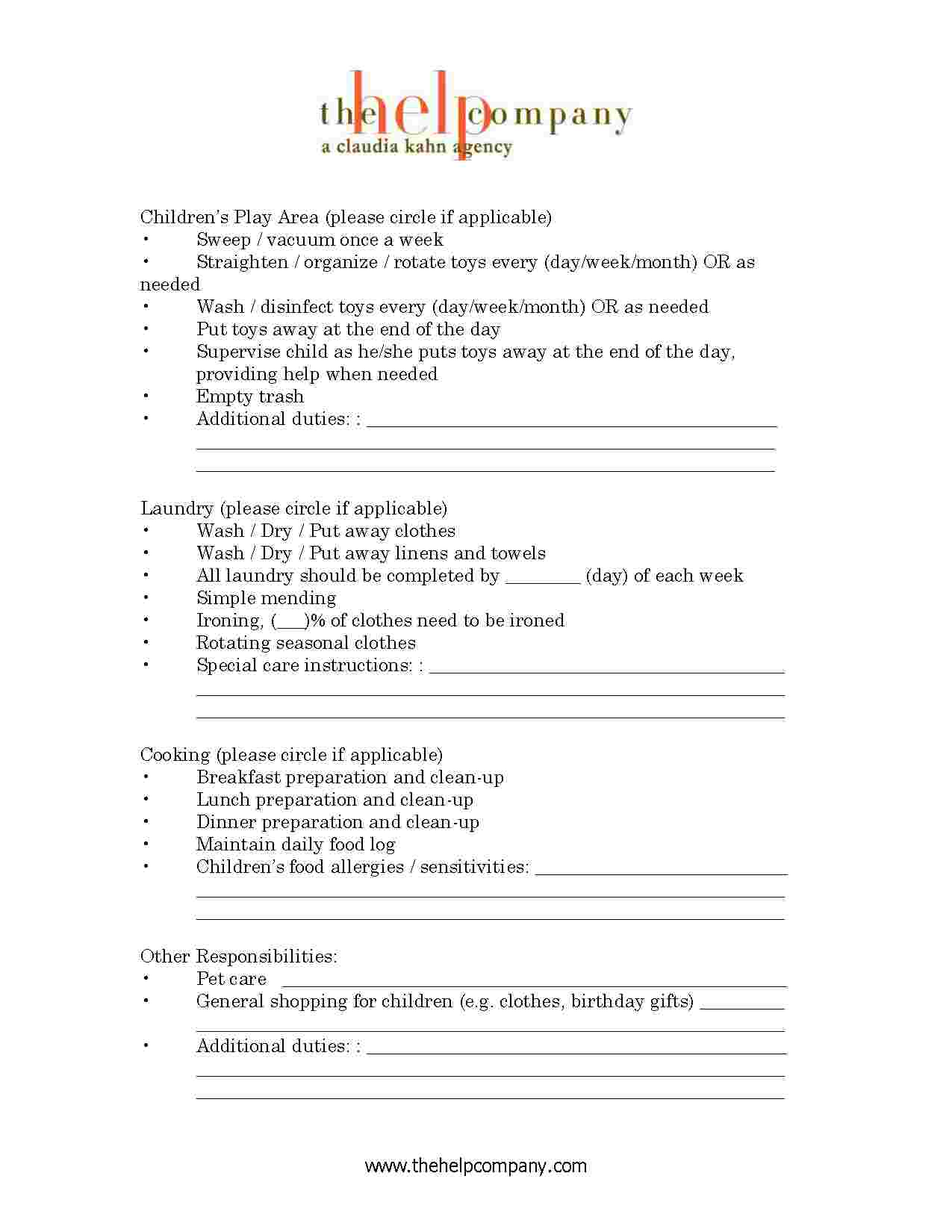 Employment Agreement Template Free Download