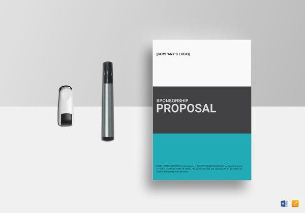 Event Sponsorship Proposal Template Free Word