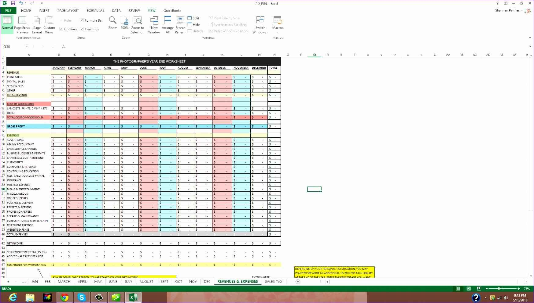 Excel Client Database Template Free