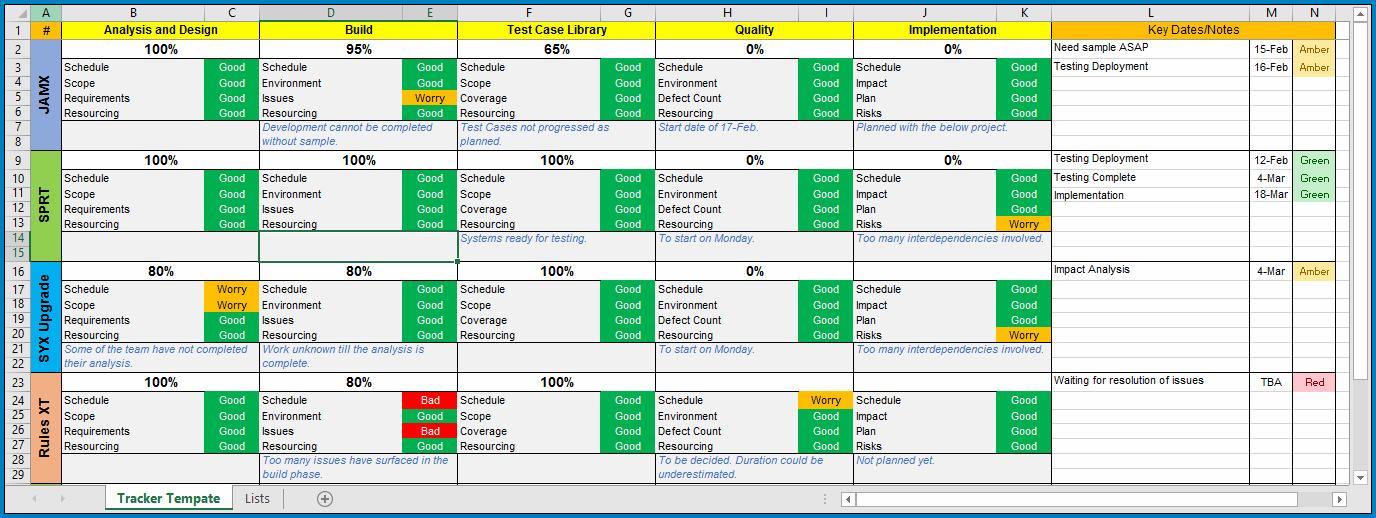 Excel Task Management Template