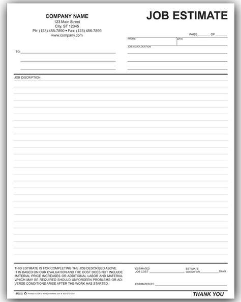 Flooring Estimate Template Free