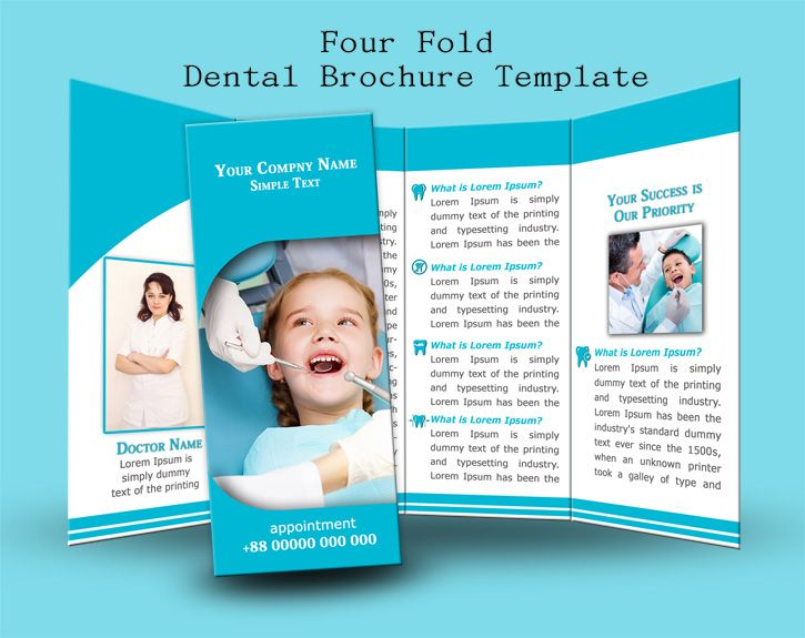 Four Fold Brochure Template