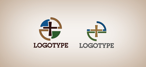 Free Church Logo Design Templates