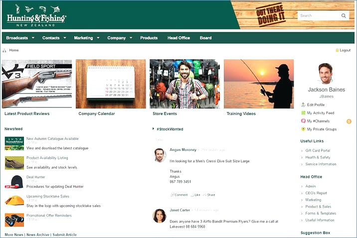 Free Intranet Website Templates