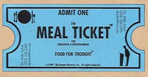 Free Lunch Ticket Template