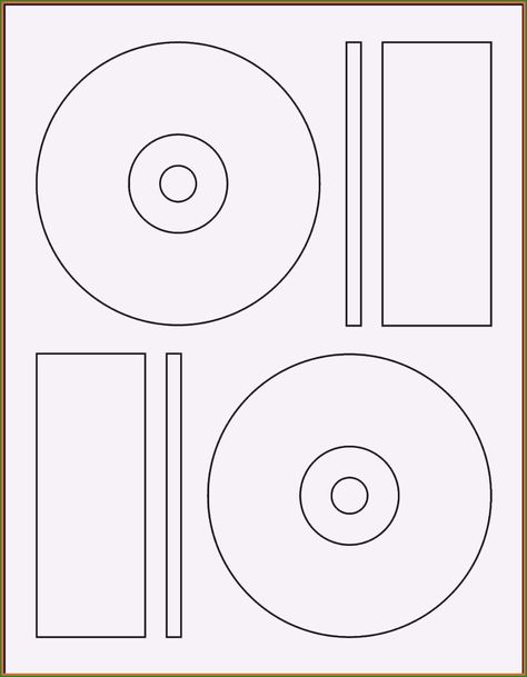 Free Memorex Cd Label Template