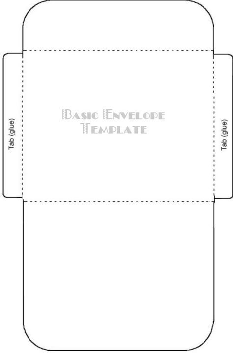 Gift Card Envelope Template Printable