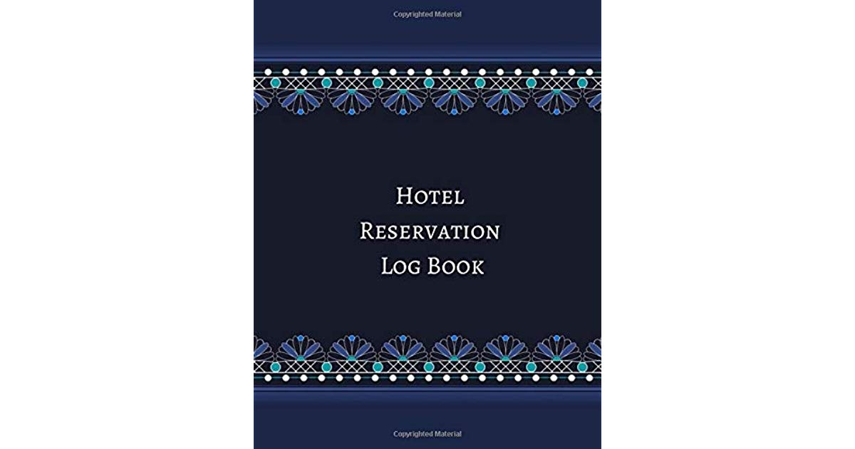 Hotel Reservation Book Template