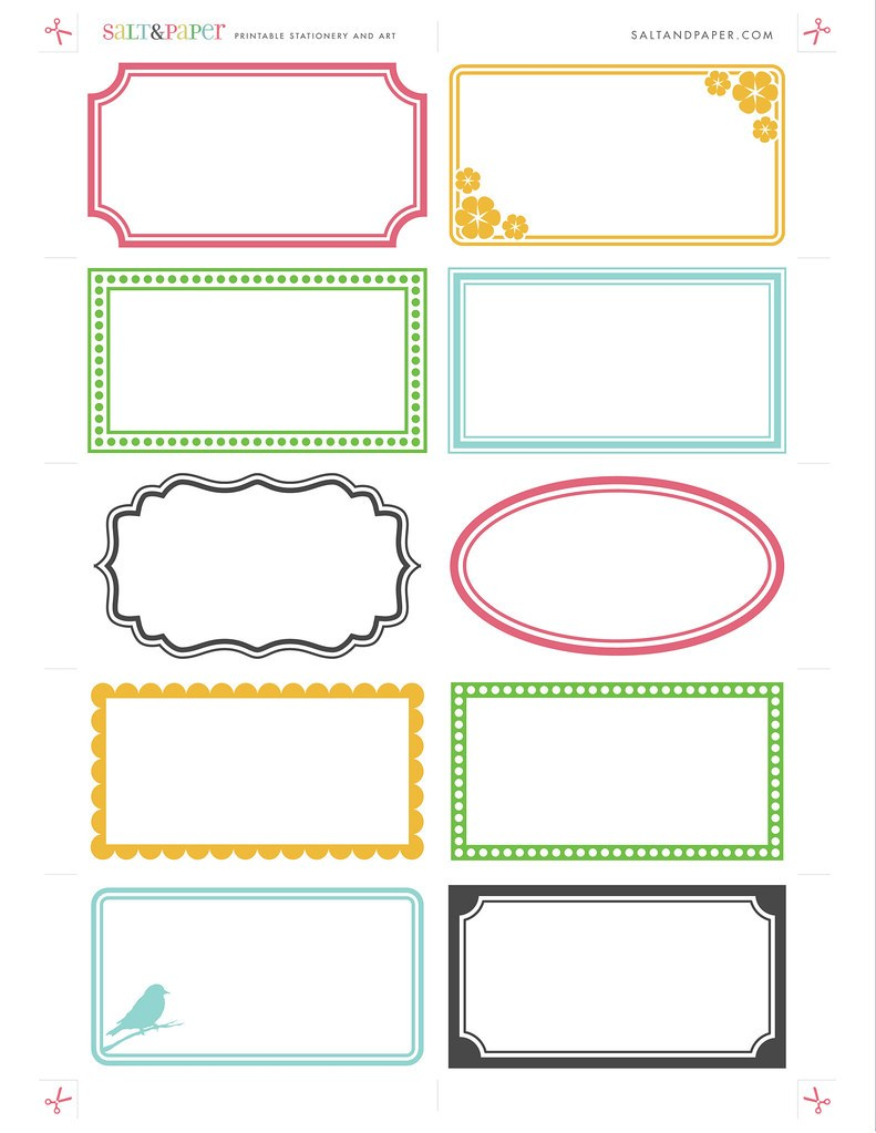 Labels For Envelopes Template