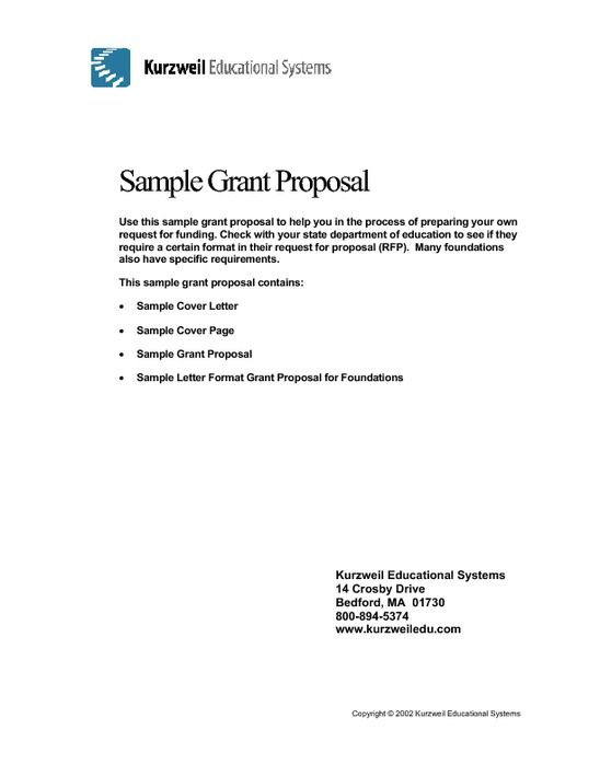 Non Profit Grant Application Template