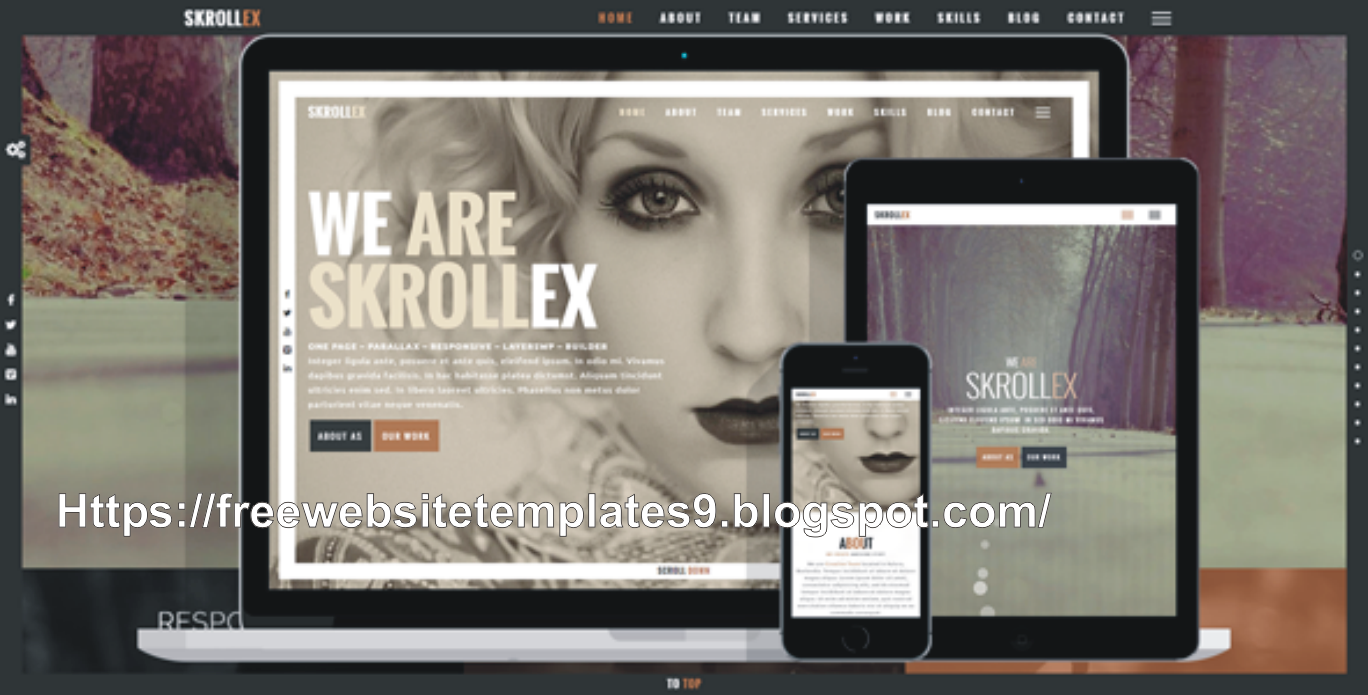 Parallax Website Templates Free Download