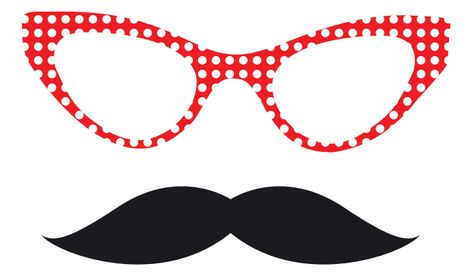 Photo Booth Props Templates