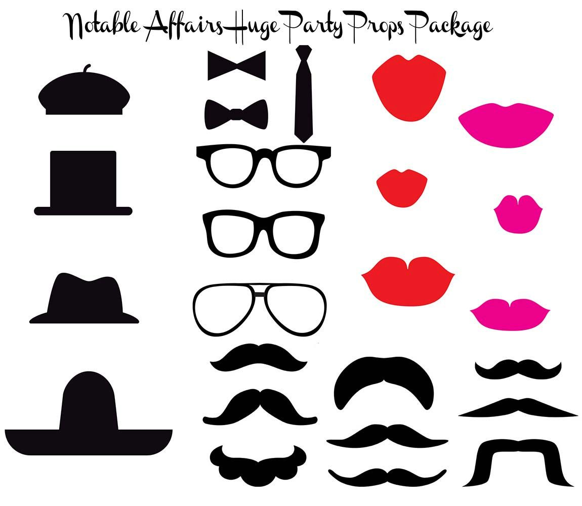 Printable Diy Photo Booth Props Templates