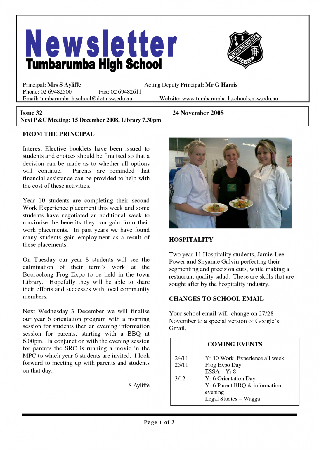 Publisher School Newsletter Templates
