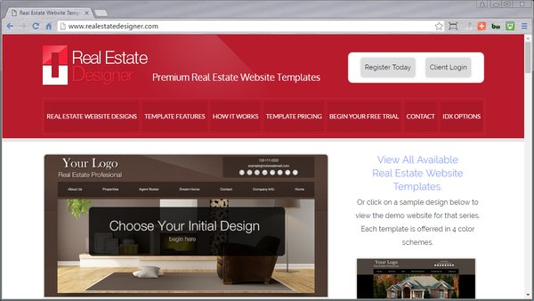 Real Estate Website Templates Idx