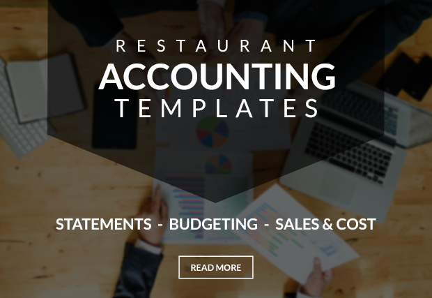 Restaurant Bookkeeping Templates